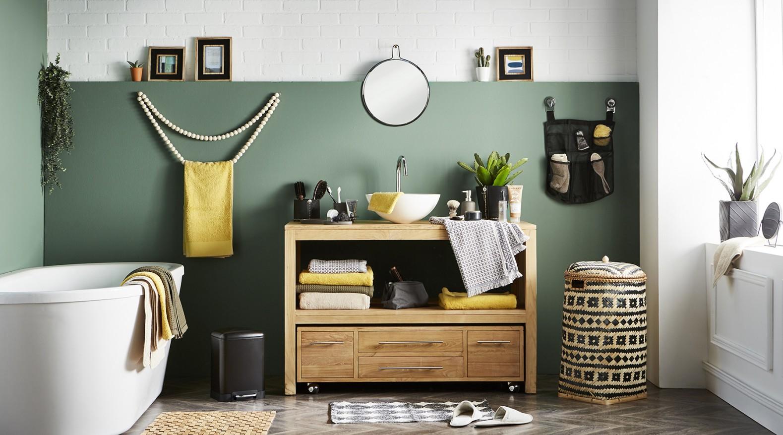D coration d 39 int rieur le bon vert pour vos murs holborn - Blog decoration interieur ...