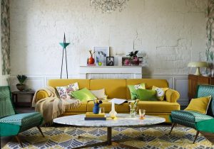 holborn - blog décoration d'intérieur - design d'espace - aménagement studio - Le jaune dans le salon