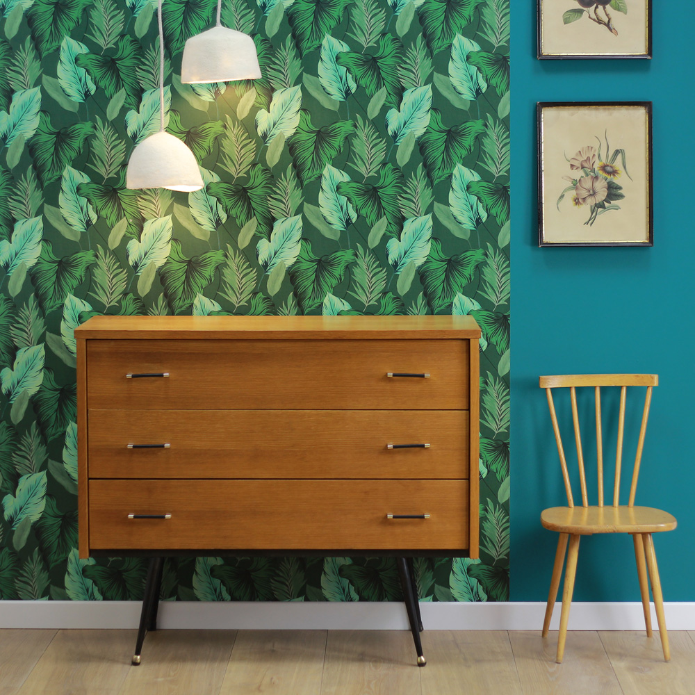 tendance d co les papiers peints jungle holborn. Black Bedroom Furniture Sets. Home Design Ideas