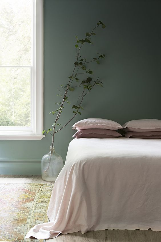Holborn Blog Decoration Interieur Decoration Chambre Vert 1