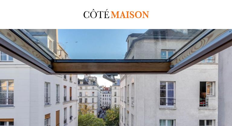 c t maison un petit appartement parisien adopte la tendance boh me chic holborn. Black Bedroom Furniture Sets. Home Design Ideas