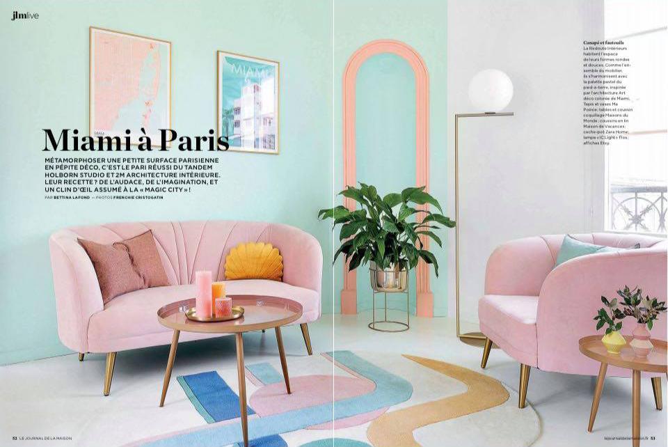 Journal de la Maison - Miami à Paris