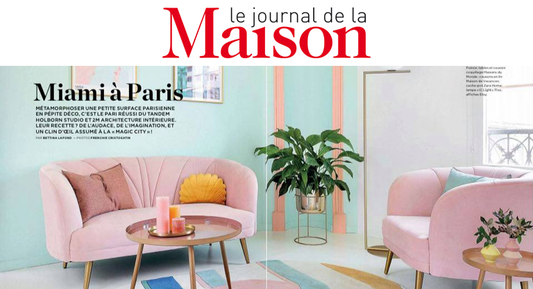 Le Journal de la maison - Miami à Paris