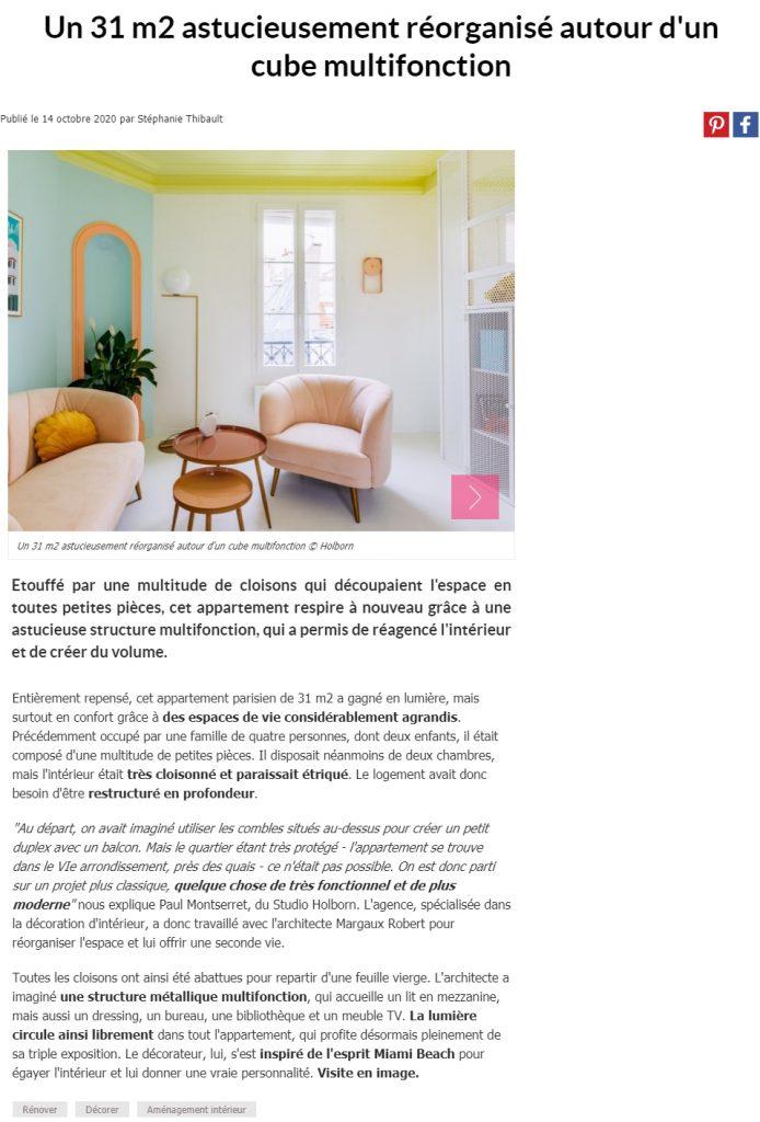 Maison à part - Rénovation d'appartement et architecture d'intérieur