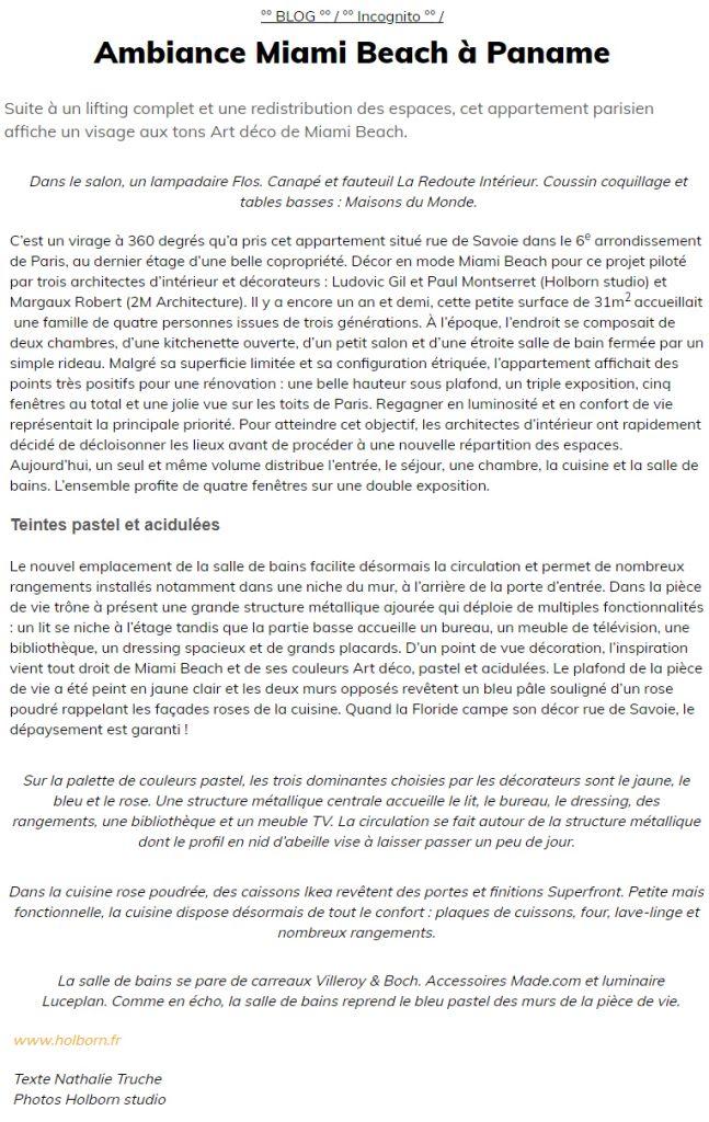Article Traits D'Co - Projet Savoie